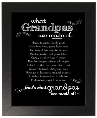 Grandpa Frame Grandpas Made Of Poem