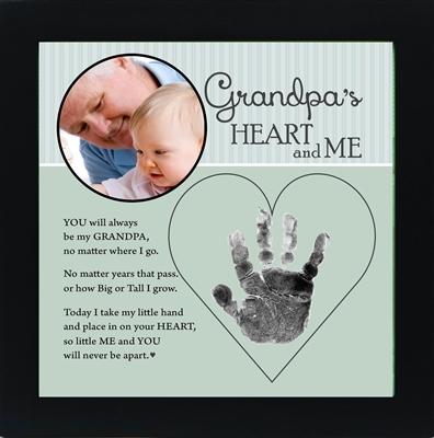 Grandpa Handprint Frame From Child