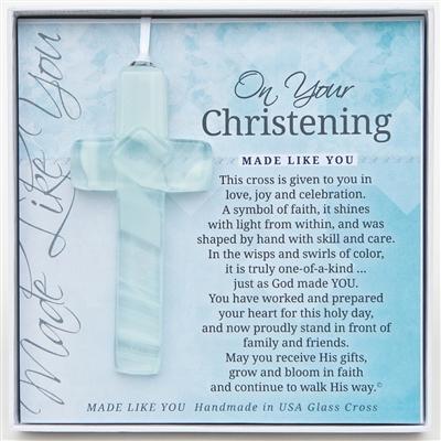 Your Christening Handmade Glass
