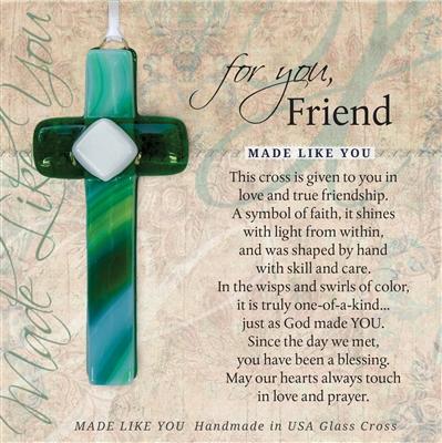 Friend Cross Inspirational Gift