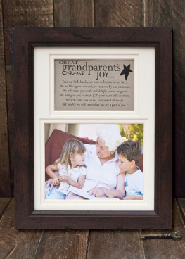 Great Grandparents Joy Frame